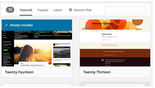 Themes-Browser